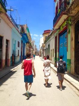 Caminando por La Habana
