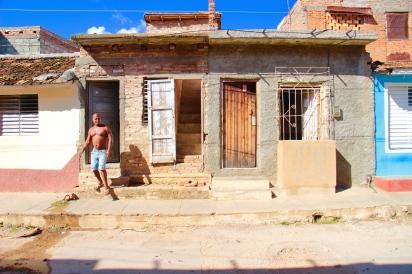 Cuban house in Trinidad
