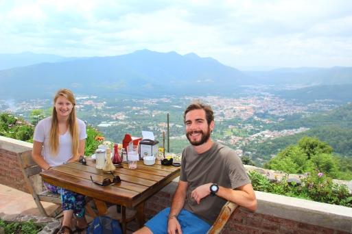 Andrea and I from El Cerro San Cristobal