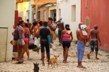 """""""Corrillo"""" of Cubans"""