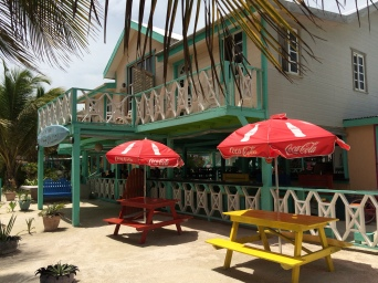 Look and feel for places around Caye Caulker