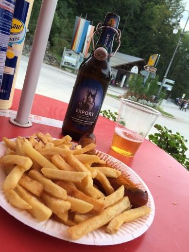 German Sausage (Wurst) & Bier