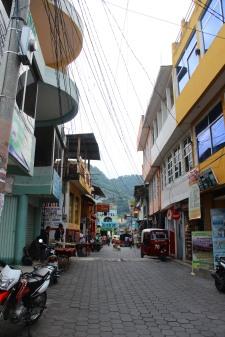 Street at San Pedro de Laguna
