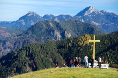 Jesus and the German Alps