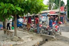 Boda Boda (Moto) or Bajajis (tuc tucs) are the main methods of transportation