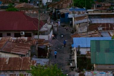 Neighborhoods around the city center